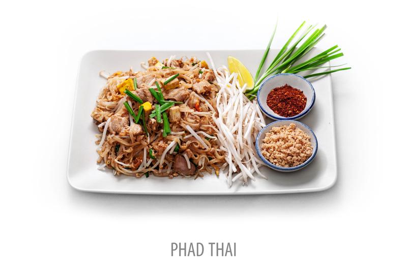 Nr 1, Pad Thai. Wokade risnudlar
